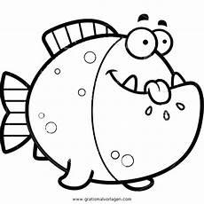 Malvorlagen Fische Quest Piranha 3 Gratis Malvorlage In Fische Tiere Ausmalen