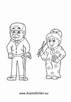Gratis Malvorlagen Oma Und Opa Ausmalbild Oma Und Opa Kostenlos Ausdrucken