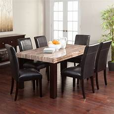 carmine 7 piece dining table dining table sets at