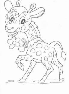 ausmalbilder giraffe malvorlagen ausdrucken 2