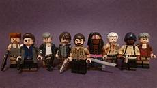 lego the walking dead lego the walking dead custom lego minifigures