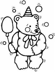 Malvorlagen Gratis Ballon Teddy Mit Ballon Ausmalbild Malvorlage Spielzeug