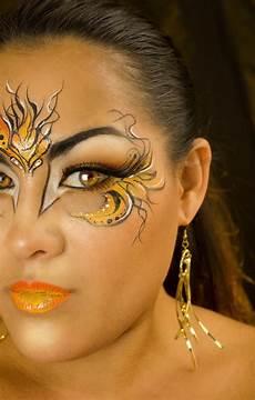 Blazing Paint Makeup