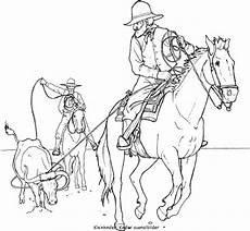 Ausmalbilder Pferde Western Cowboy Ausmalbilder Malvorlagen Pferde Ausmalbilder