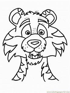 Malvorlagen Tiger Motor Tiger Printable Coloring Home