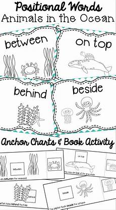 positional worksheets for kindergarten
