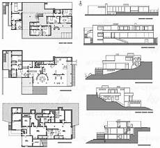 tugendhat house plan mies van der rohe villa tugendhat plans and elevations