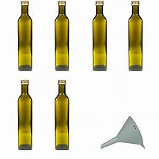 Le Aus Glasflaschen - viva haushaltswaren 6 x braune glasflasche 214 lflasche