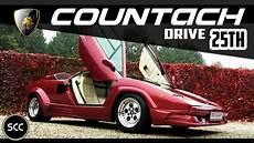 Lamborghini Countach 25th Anniversary 25 1989 Test Drive