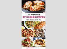 20  Fabulous Keto Dinner Recipes   Happy Body Formula