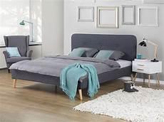 Bett Kaufen 180x200 - polsterbett grau lattenrost 180 x 200 cm rennes bedroom