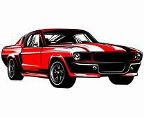 Ford Mustang SVG Hot Rod Svg 1967 Muscle Car