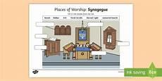 places of worship worksheets ks2 16010 places of worship synagogue worksheet activity sheet cfe