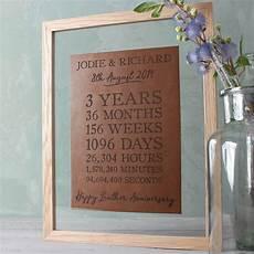 Third Wedding Anniversary Gift Ideas For Husband
