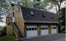 Gambrel Apartment Garage Plans by 24 X 36 Gambrel 3 Bay Garage With An Efficiency