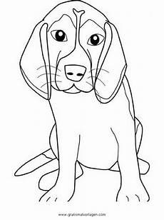 Ausmalbilder Hunde Beagle Beagle Gratis Malvorlage In Hunde Tiere Ausmalen