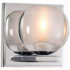 corona 5 quot high chrome led wall sconce 23k75 ls plus