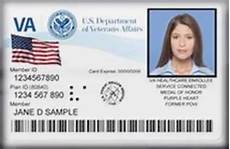 veteran id card template veterans your id card is at risk for identity theft
