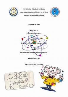 aula de f sica y qu mica cuaderno de fichas f 237 sica y caratula cuaderno fisic a