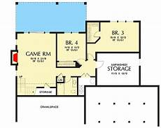 craftsman house plans with basement cute craftsman house plan with walkout basement 69661am