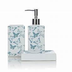 Bathroom Accessories Set Asda by George Home Accessories Butterfly Bathroom Accessories