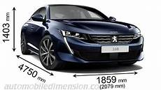 Peugeot 508 Dimensions Peugeot 508 2019 Dimensions Boot Space And Interior