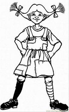 coloring pages pippi longstocking education gt literature
