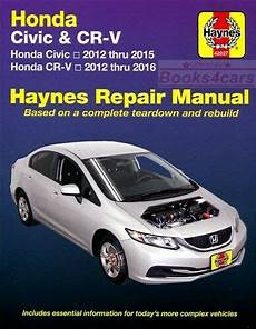automotive service manuals 2008 honda civic free book repair manuals shop manual civic crv service repair honda book cr v haynes chilton ebay