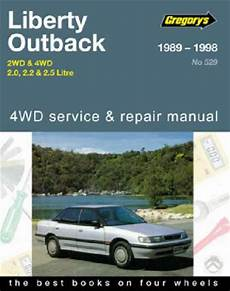 service and repair manuals 1989 subaru justy spare parts catalogs subaru liberty outback 2wd 4wd 1989 1998 gregorys service repair manual sagin workshop car