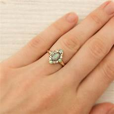 vintage gold and opal ring new york vintage estate jewelry erstwhile jewelry co ny