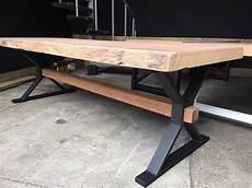 tischgestell aus metall model x balken