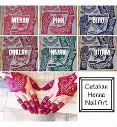 59 Gambar Nail Henna Di Tangan
