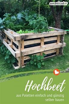 Hochbeet Bauen Günstig - hochbeet selber bauen einfach und preiswert aus paletten