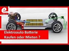 elektroauto batterie kaufen oder mieten