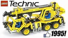 lego technic big crane 1995 model 8460 unboxing and