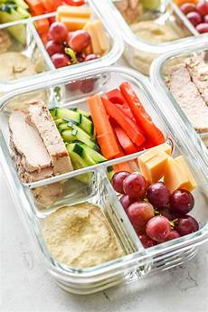 chicken hummus plate lunch meal prep project meal plan
