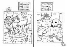 Ausmalbilder Grundschule Ausmalbilder Mathematik Grundschule 03 Education