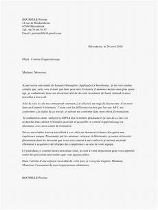 lettre de motivation pour un apprentissage lettre de motivation pour un contrat d apprentissage en mecanique auto laboite cv fr