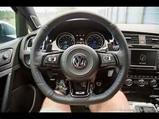 golf 7 r lenkrad golf r mk7 leather steering wheel wrap how to remove