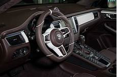 Fancy Porsche Macan Interior By Techart
