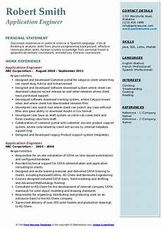 application engineer resume sles qwikresume