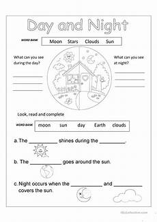 time of day worksheets for kindergarten 3596 day and worksheet free esl printable worksheets made by teachers