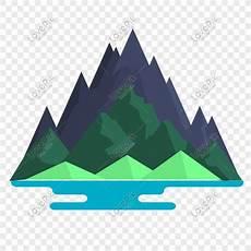 Ilustrasi Vektor Alpine Hutan Png Png Grafik Gambar Unduh