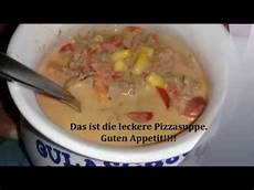 Pizzasuppe Low Carb - loonita pizzasuppe pizza suppe hackfleischsuppe