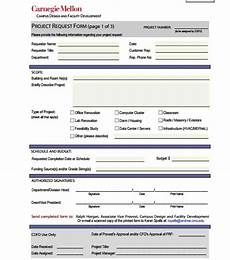 6 request form templates free sle templates