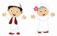 Kartun Islami Laki Laki Ginting Gambar