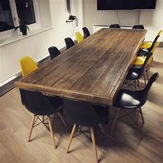 Quot Jules Quot Reclaimed Wood Meeting Boardroom Table Table