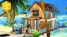 Island Living Tiny House Sims 4 Speed Build