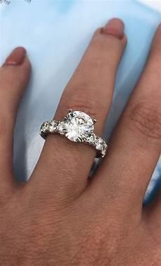 amazing 14k white gold diamond engagement ring with 4 70ct diamonds i do now i don t