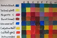 how to paint an acrylic color mixing chart color mixing